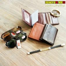 کیف پول دستی چرم طبیعی